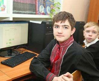 Школы области получили больше 1400 компьютеров