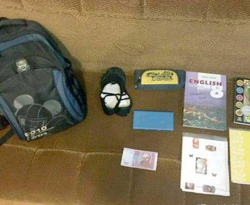 Под Харьковом рецидивист украл у девочки рюкзак со школьными тетрадками