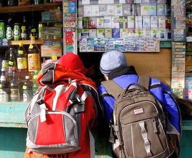 В Харькове трое детей отравились алкоголем