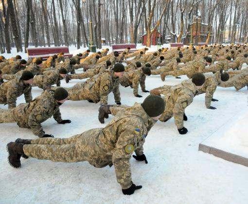 Харьковские военные приняли вызов: видео