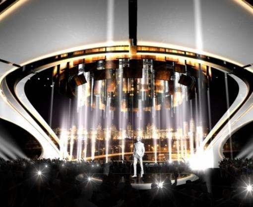 Организаторы «Евровидения-2017» показали проект сцены конкурса в Киеве