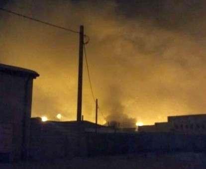 Пожар в Харькове: что горело на Алексеевском рынке: фото-факты