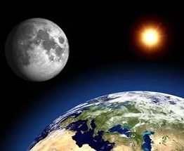 Названа дата столкновения Земли и Луны
