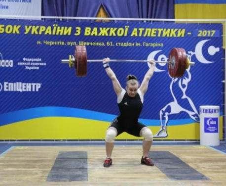 Тяжелоатлетки Харьковщины установили рекорды Украины на соревнованиях в Чернигове