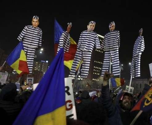 В Румынии проходят массовые антиправительственные протесты