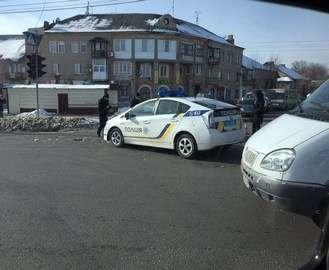 Минус Prius: очередная машина патрульных попала в ДТП