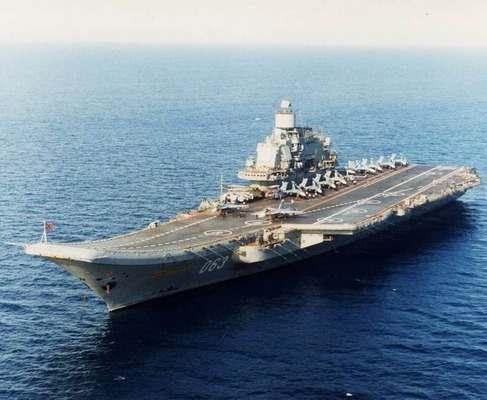 Минобороны РФ назвало дату окончания похода «Адмирала Кузнецова»