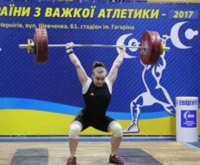 Харьковские тяжелоатлеты неплохо выступили
