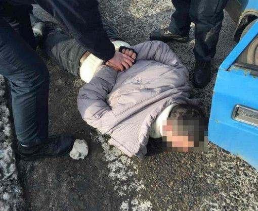 Под Харьковом задержали банду похитителей