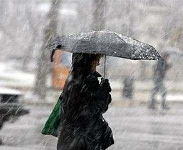 Погода в Харькове: мокрый снег с налипанием
