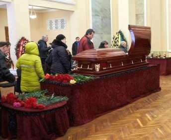 В Харькове простились с Юрием Поярковым