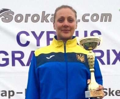 Харьковчанка стала призером Гран-при Кипра по стендовой стрельбе