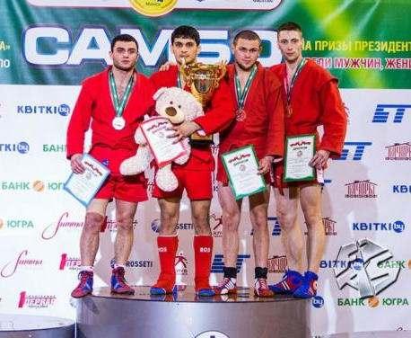 Харьковские самбисты с медалями вернулись из Беларуси
