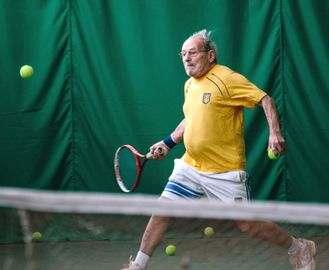 Харьковчанин заставит попотеть знаменитого теннисиста
