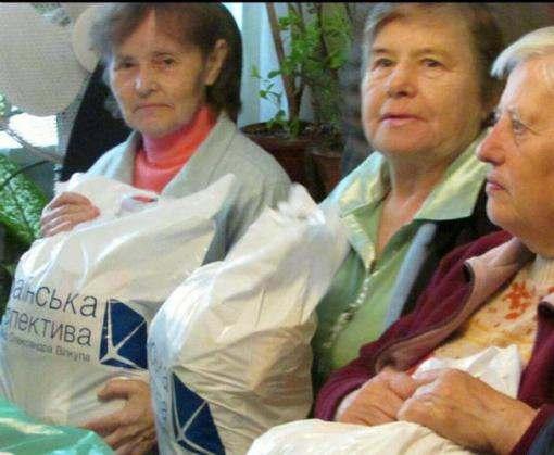 Фонд «Украинская перспектива» передал Красному Кресту продукты