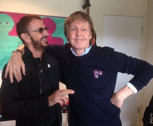 Пол Маккартни и Ринго Старр впервые с 2010 года вместе запишут песню
