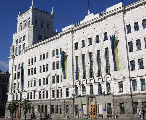 В здании Харьковского горсовета проходит обыск