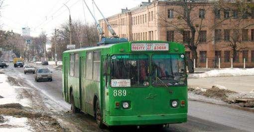 Троллейбусы №11 и 27 временно изменят маршруты движения