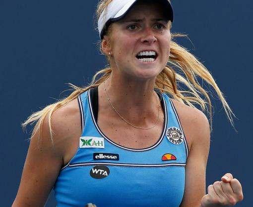 Элина Свитолина обыграла Дэвис в четвертьфинале турнира в Дубае