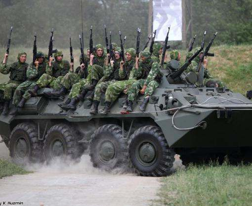 Россия строит артиллерийские склады возле границы с Украиной