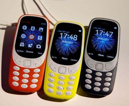 Они возвращаются: в Барселоне представили обновленную версию Nokia 3310