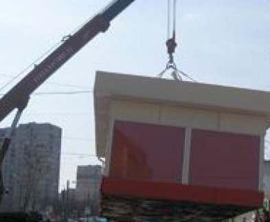 В Харькове демонтируют незаконно установленные киоски