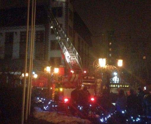 В Харькове горел ресторан «Старгород»