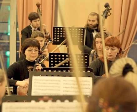 Оркестр «Слобожанский» выступит с Бушем