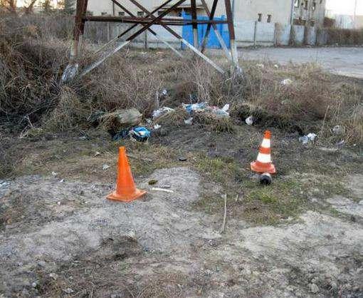 В Харькове возле дома обнаружена граната