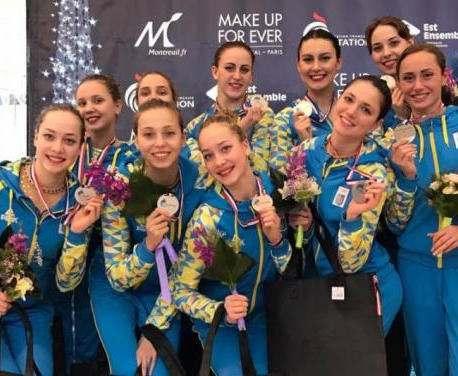 Харьковские синхронистки привезли медали из Франции