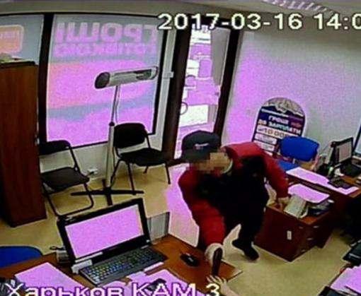 Грабитель кредитных союзов в Харькове задержан