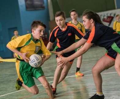 В Харькове определился победитель школьной регбийной лиги