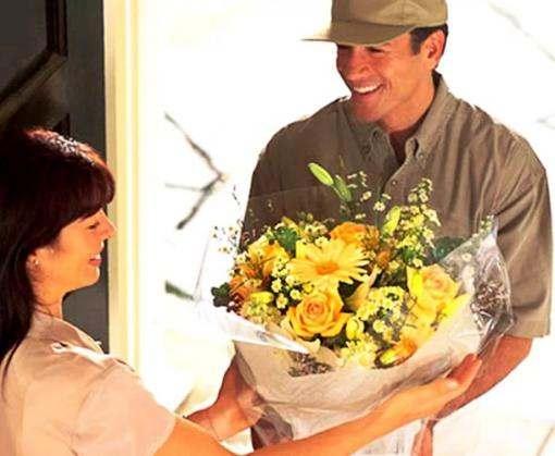 Доставка букетов цветов с Днем Рождения от компании «Розарий»