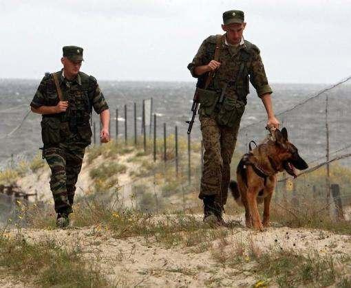Украинские пограничники усилили охрану белорусского участка границы
