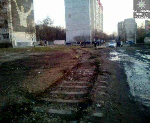 В центре Харькова демонтировали рельсы