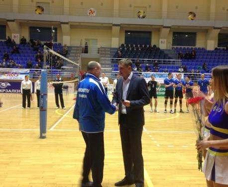 В Харькове наградили тренеров сборной команды Украины по волейболу