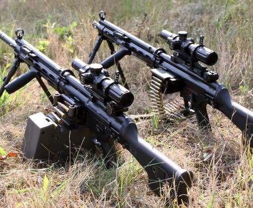 Российские офицеры в Донбассе приторговывают пулеметами