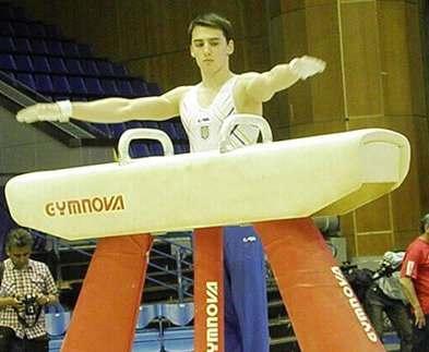 Харьковчанин стал призером чемпионата Украины по спортивной гимнастике