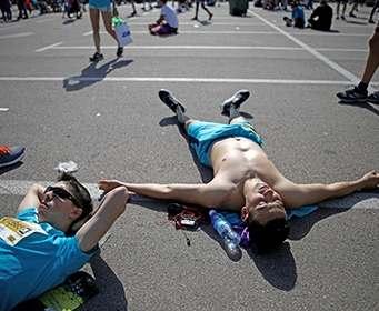 Ученые назвали главную опасность марафона