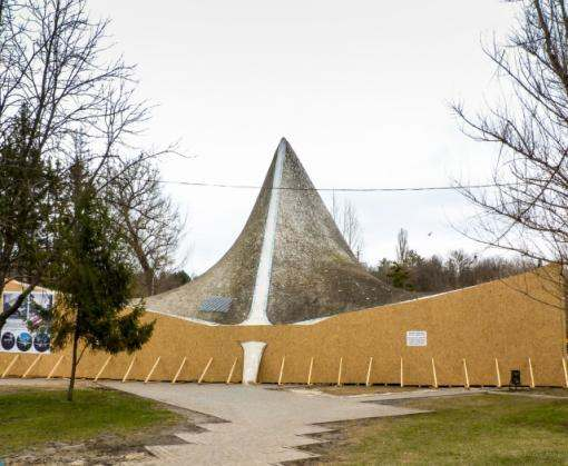 Источник в Саржином яру закрыт на реконструкцию