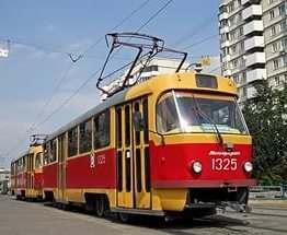 В Харькове два трамвая временно изменят маршрут движения