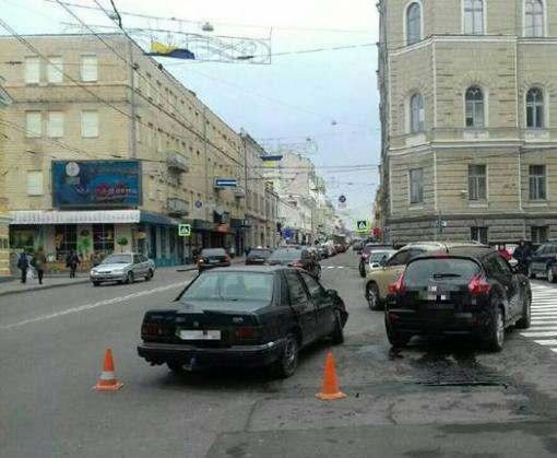 ДТП в Харькове: на Сумской столкнулись четыре машины