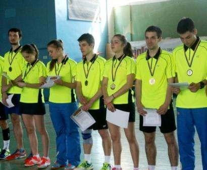 Харьковчане выиграли чемпионат Украины по бадминтону