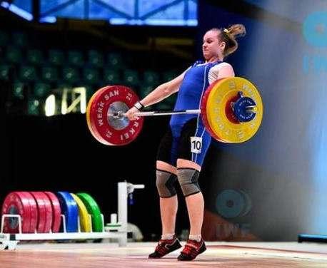 Харьковская тяжелоатлетка завоевала «малое золото» чемпионата Европы