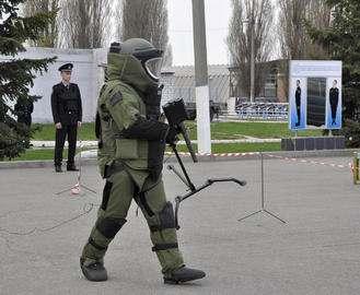 В Харьков съехались взрывотехники