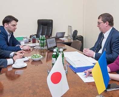 Крупная японская компания заинтересовалась инфраструктурными проектами Харькова