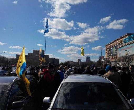 На площади Свободы прошел митинг