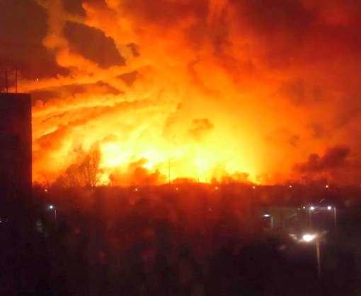 В Балаклее сгорело боеприпасов на миллиард долларов