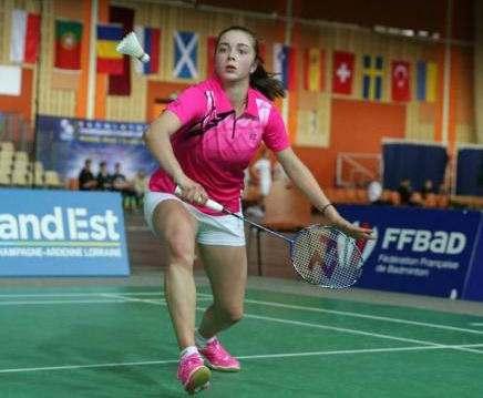 Харьковчанка завоевала «серебро» чемпионата Европы по бадминтону