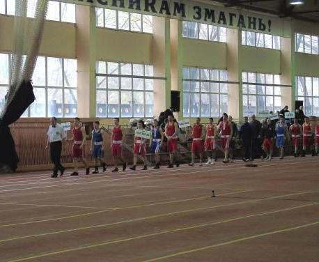 В Харькове проходит Всеукраинская универсиада по боксу